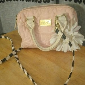 Small Baby Pink Betsey Johnson Bag!
